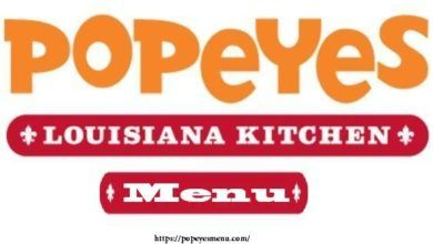 Popeyes louisinia kitchen menu