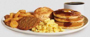 popeyes breakfast menu