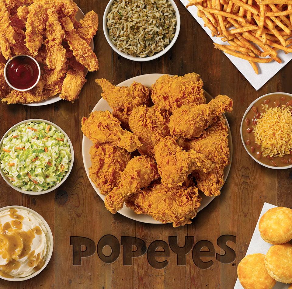 popeyes menu prices 2019